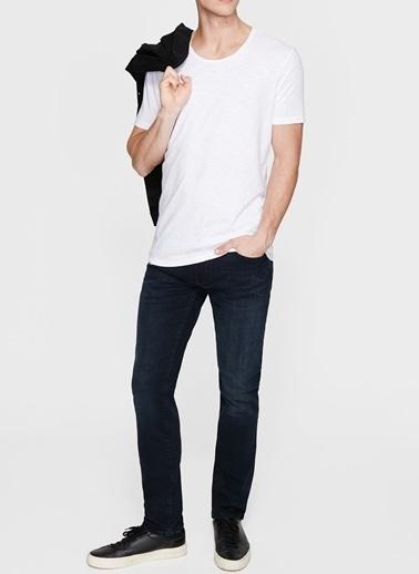 Mavi Mavi Beyaz Basic T-Shirt Beyaz